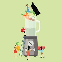 together diet blender fruit healthy food processor fresh mixer