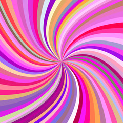 Poster de jardin Psychedelique Multicolored abstract swirl background