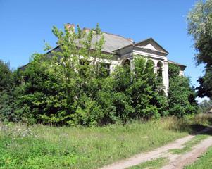 Abandoned building, Clergy house