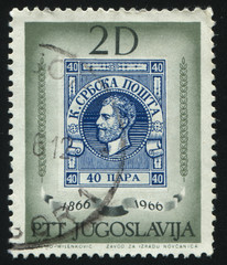 stamp with portrait