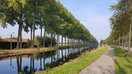 Damme Canal at Bruges