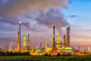 Oil refinery industry in oil industry in Thailand, Asia
