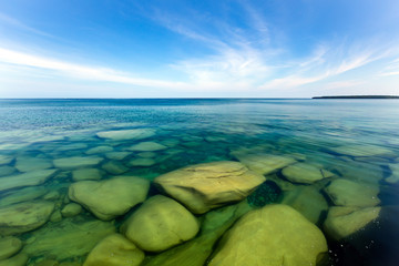 Underwater View of Lake Superior