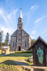 Saint Peter Stone Church - Gramado, Rio Grande do Sul, Brazil