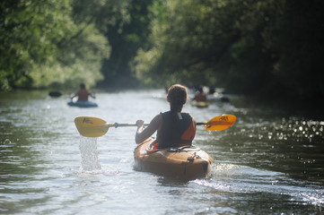 kanufahren - canoeing
