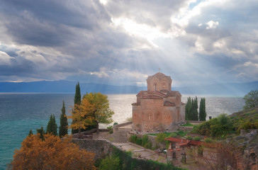 The Church of Saint John at Kaneo, Lake Ohrid Macedonia