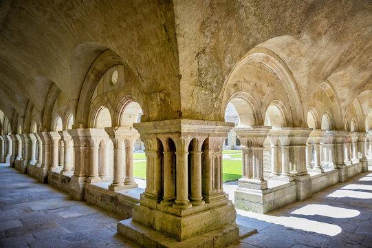 Abbey of Fontenay. Burgundy, France