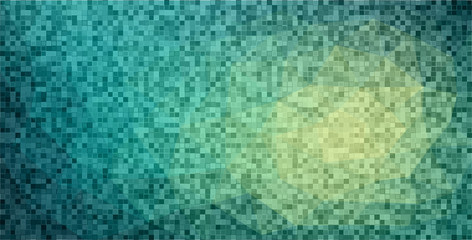 background with square shape