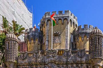 Wall Mural - Portugal, Pena National Palace. Palacio Nacional da Pena, Sintra