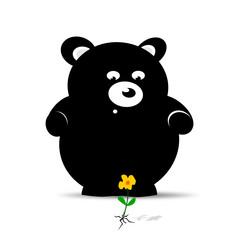 Oh eine Blume Bär
