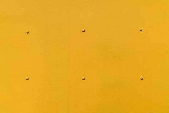 Yellow Metal Surface
