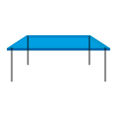Isolated table icon