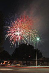 The 4th of July Fireworks at Cupertino