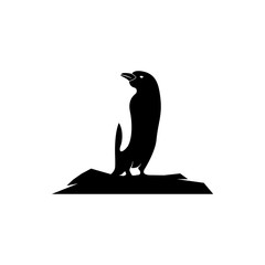 Penguin Icon vector logo element