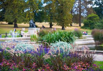 Fountains in Italian garden, London