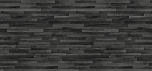 Black wood parquet texture. background old panels