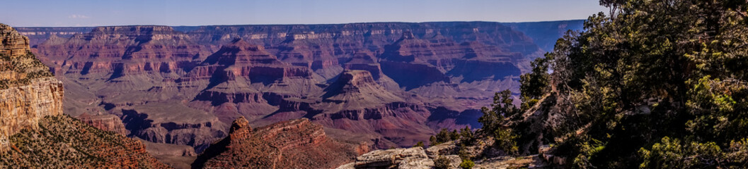 Grand Canyon National Park, Arizona, USA. Picturesque desert landscape