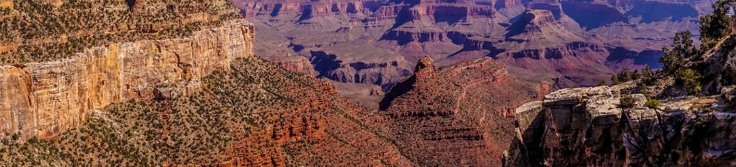 Grand Canyon National Park, Arizona, USA. Aerial view