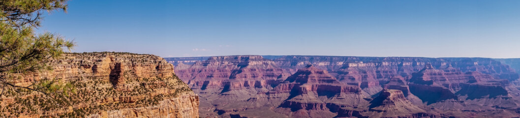 Grand Canyon National Park, Arizona, USA. Picturesque panorama