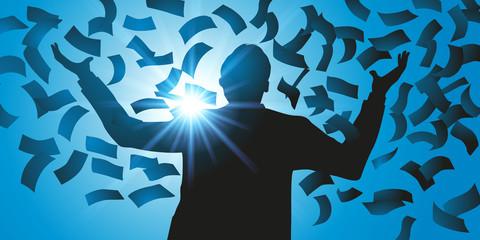 argent - gagner de l'argent - réussite - succès -richesse - loto - jackpot