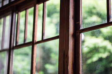 Japanese country window