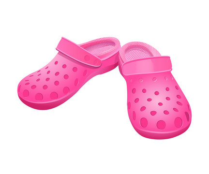 Shoes  rubber, pink.