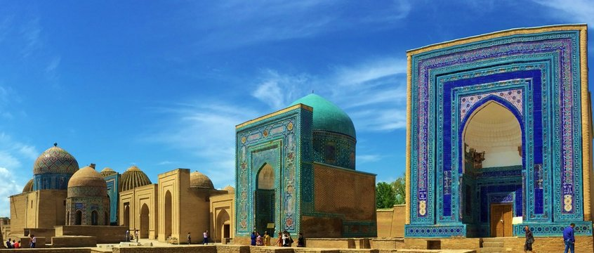 Views of Shah-i-Zinda, Uzbekistan