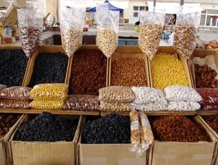 Spice market in Khiva, Uzbekistan