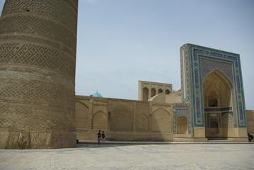 Architectural details in Khiva, Uzbekistan