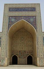 Architectural details and views of Samarkand, Uzbekistan