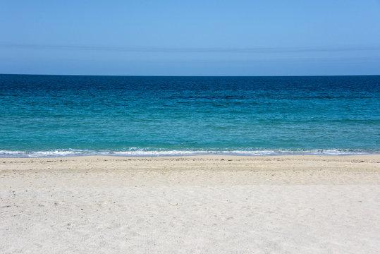 Beach of Sir Bani Yas Island