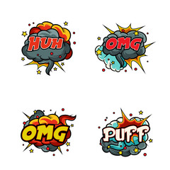 comics icons over cream background illustration