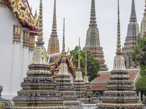 Chedis, Wat Pho, Bangkok