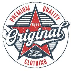 Premium Quality Clothing - T-Shirt Design