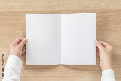 mock up flyer pamphlet brochure design a5 size paper in business