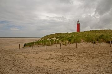 Texel Strand und Leutturm / Beach and Lighthouse