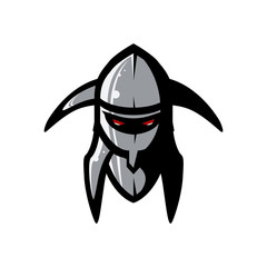Vector picture of helmet of the Viking