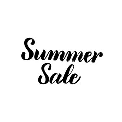 Summer Sale Handwritten Calligraphy
