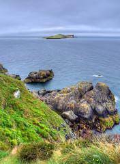 The Howth Cliff Walk outside of Dublin, Ireland.