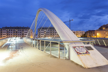 Wall Mural - Modern bridge in Lorca, Spain