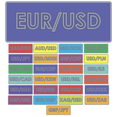 Currency pairs Forex