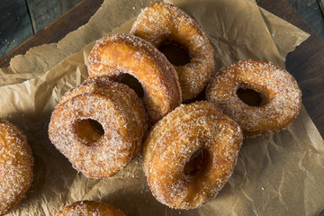 Homemade Sugary Cronut Donuts