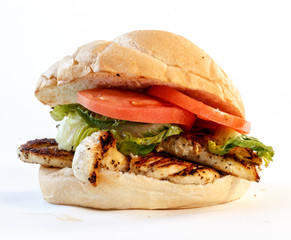 Acrylic Prints Snack chicken sandwich