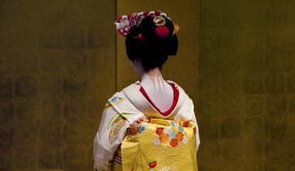 Unidentified japanese geisha
