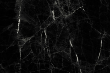Black marble texture and background.