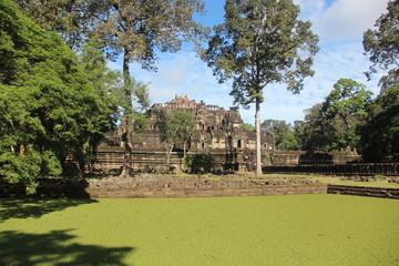 Cambodia . Baphuon Temple . Siem Reap Province . Siem Reap City .