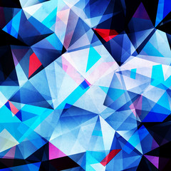 Abstract background polygon
