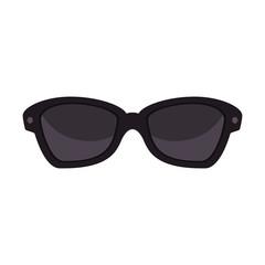 Fashion sunglasses accesorie icon vector illustration graphic design