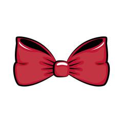 Vintage bow tie icon vector illustration graphic design