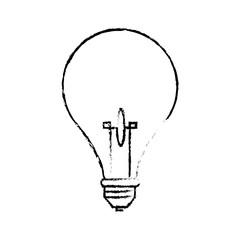 bulb light creative idea thinking icon symbol